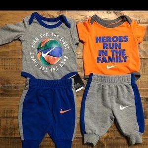 Baby boy bundle- Nike & Adidas ( 6 piece bundle)
